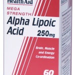 802350 Alpha Lipoic Acid 250mg 60's A