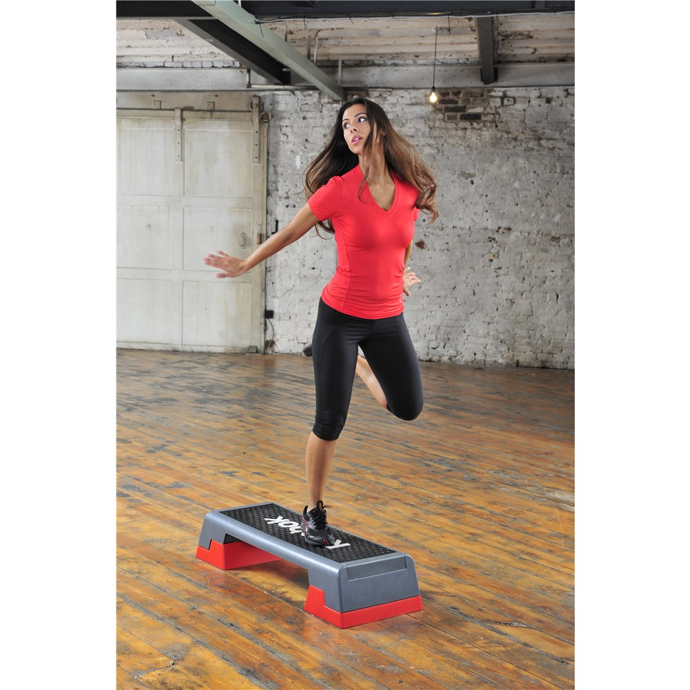 Aerobic step with model