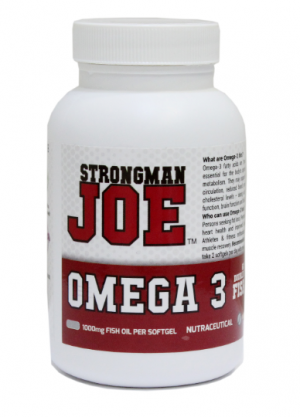 STRONGMAN JOE OMEGA 3 Fish Oil (Double Strength) India