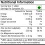 ZMA Nutrition Information
